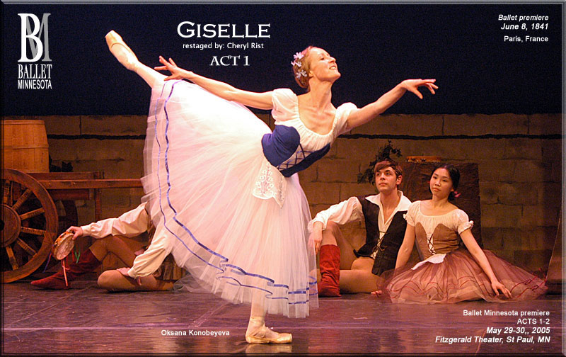 Giselle Act 1