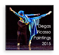 Degas and Picasso Paintings